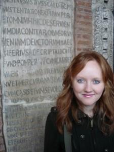 Clare Rushing, mental health copywriter on the O'Cavan team